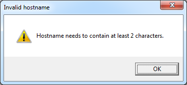 VBScript to prompt for hostname and validate input in SCCM